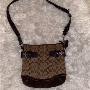 Coach vintage brown bag